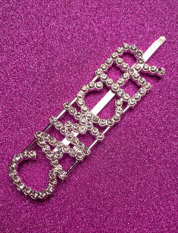 CANCER DIAMONTE HAIR CLIP