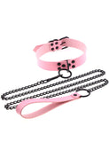 VOYANCE CHOKER AND CHAIN - PINK