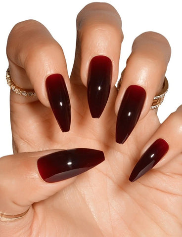 TRE SHE FALSE NAIL SET - CHERRY COLA