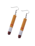 CIGARETTE EARRINGS - SHORT
