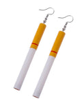CIGARETTE EARRINGS - LONG