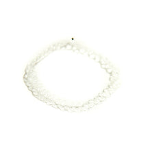 TATTOO CHOKER NECKLACE - CLEAR CRYSTAL
