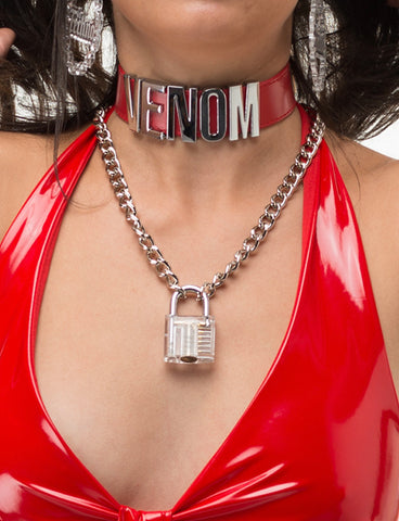 CLEAR VISION CHAIN NECKLACE