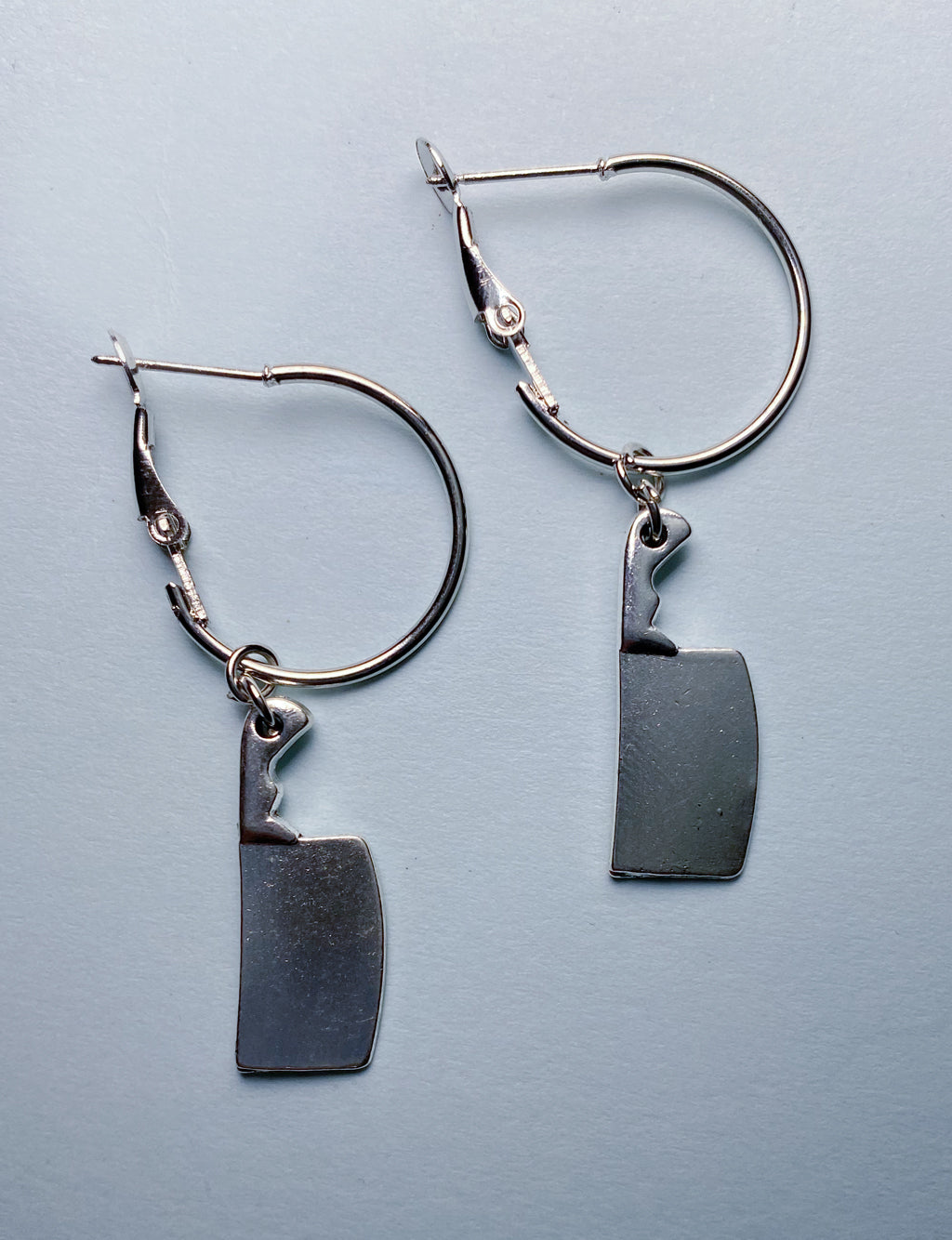 CLEAVER HOOP EARRINGS
