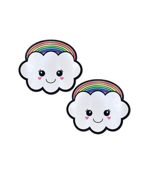 KAWAII RAINBOW CLOUD NIPPLE PASTIES