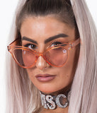 CRUEL INTENTIONS SHADES - CLEAR ROSE GOLD