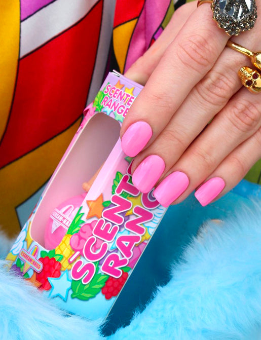 COTTON CANDYLAND NAIL POLISH *FAIRY FLOSS SCENTED*