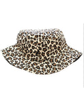 CONFIDENCE BUCKET HAT - LEOPARD