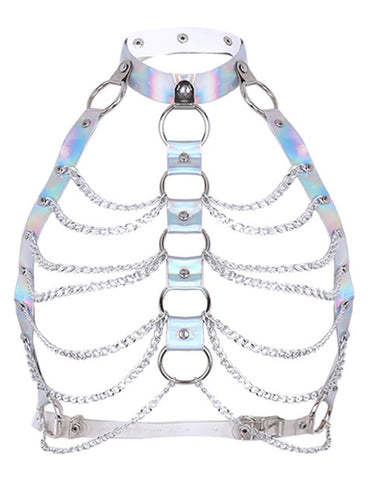 COSMIC HARNESS - HOLOGRAM SILVER