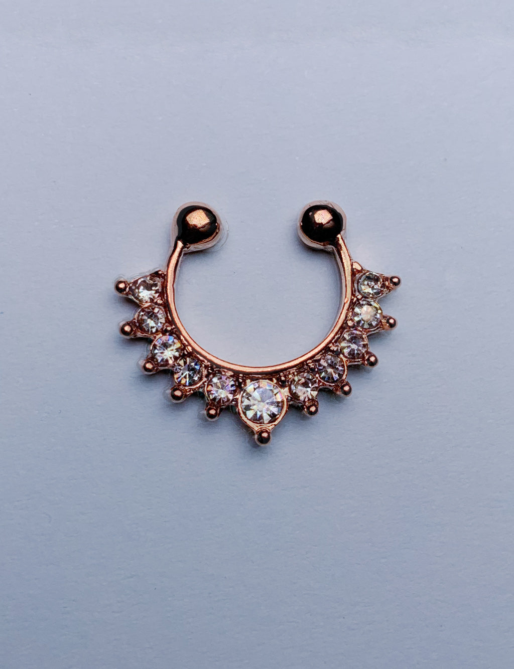CROWNED SEPTUM CLIP