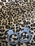 INCARCERATED GREY CUFF NECKLACE