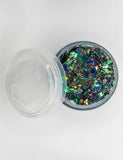 DARK MERMAID COSMETIC GLITTER GLUE