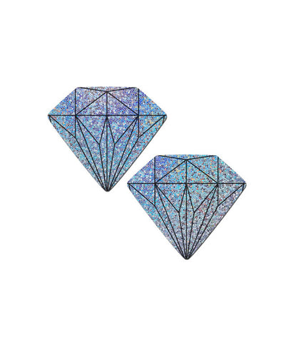 HOLOGRAM DIAMOND NIPPLE PASTIES