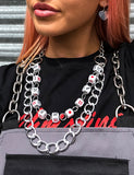 SNAKE EYES DICE NECKLACE