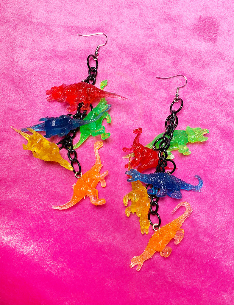 DINO EARRINGS