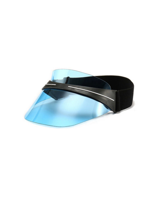 DISTORTED FIELDS VISOR - BLUE