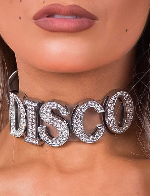 DISCO CHOKER - CLEAR