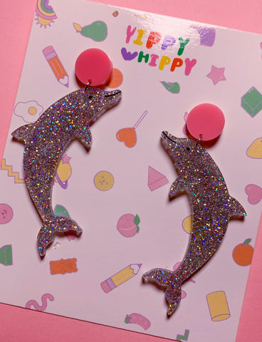 DOLPHIN EARRINGS