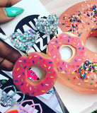 HAUS OF DIZZY NUTS ABOUT DONUTS EARRINGS