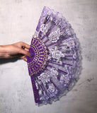 LACE DREAMS DOOF FAN - PURPLE