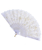 LACE DREAMS DOOF FAN - WHITE
