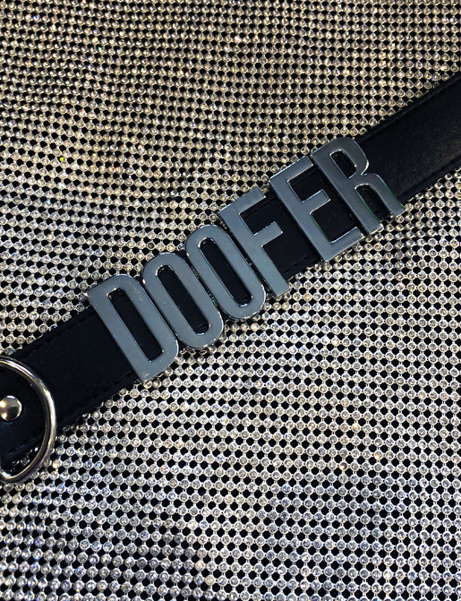 DOOFER CHOKER - BLACK