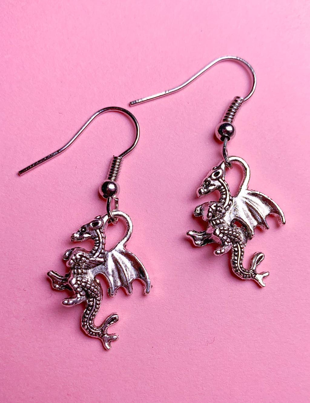 FLYING DRAGON EARRINGS