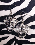 EVIL DRAGON EARRINGS