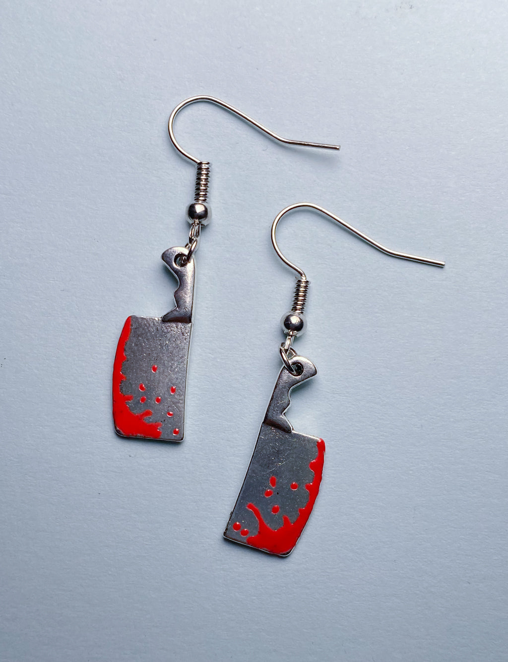DRIPPING CLEAVER EARRINGS