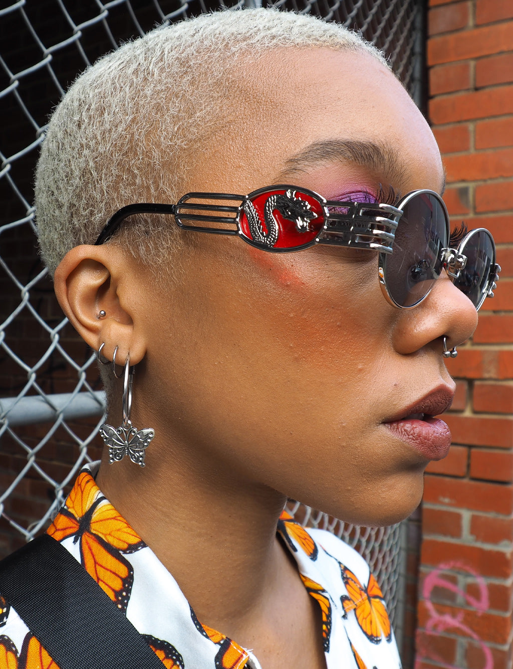 DRAGON SLAYER SHADES - SILVER