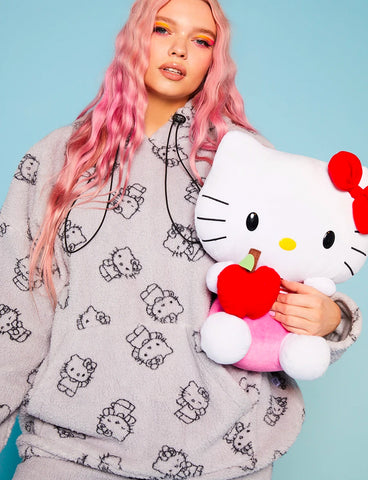 HELLO KITTY FLEECE HOODIE