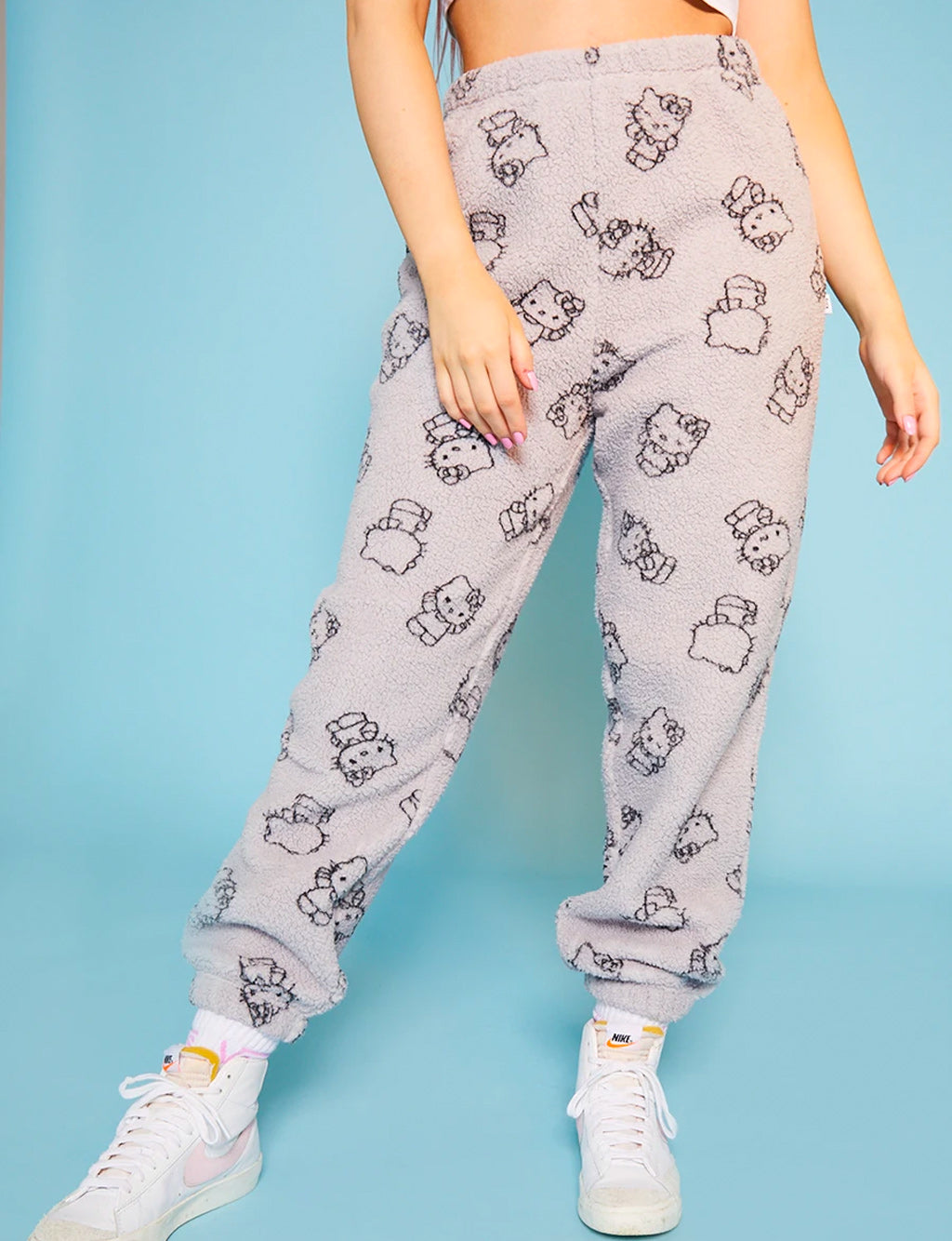 HELLO KITTY FLEECE JOGGERS