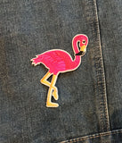 FLAMINGO IRON ON PATCH
