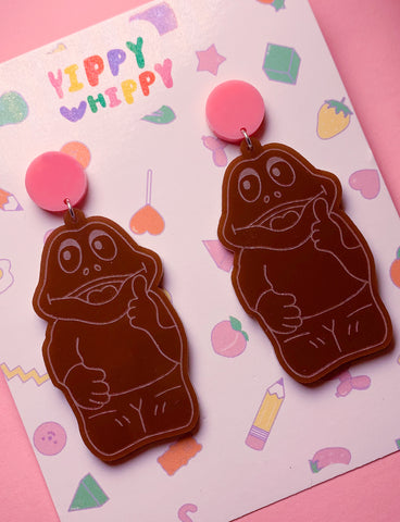 FREDDO FROG EARRINGS