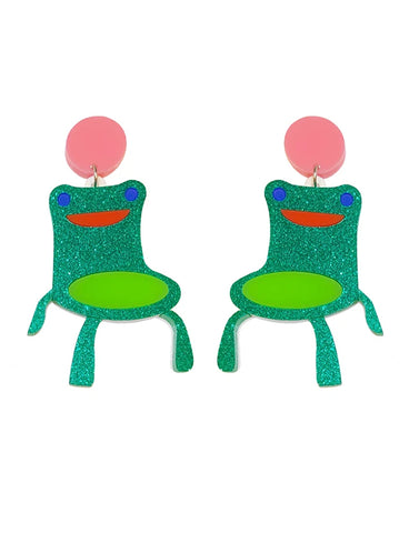FROGGY CHAIR EARRINGS