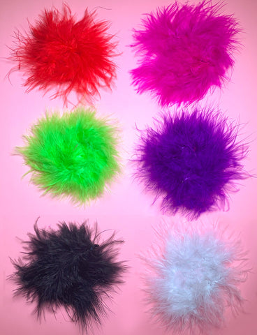 FUZZY NIPPLE COVERS - *7 COLOURS*