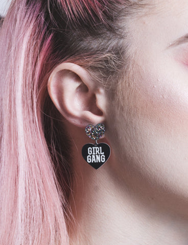 GIRL GANG EARRINGS - SMALL