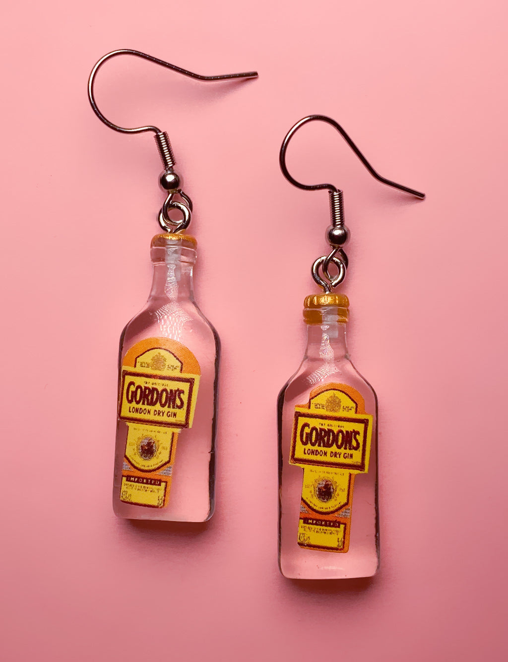 GORDONS GIN EARRINGS