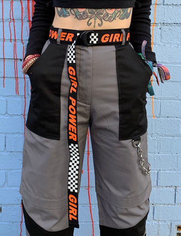 GIRL POWER BELT - BLACK