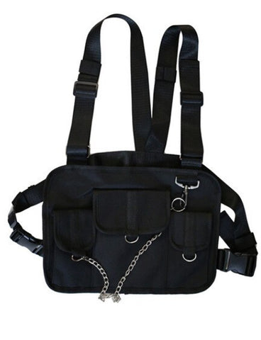 GLADIATOR CHEST RIG - BLACK