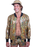 HOLOGRAM BOMBER - GOLD