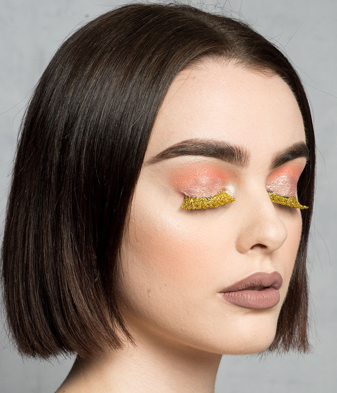 GOLD RUSH GLITTER LASHES