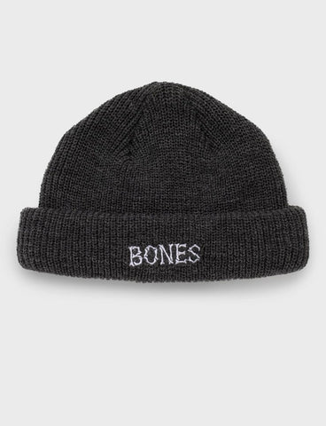 Docker Knit Beanie - Grey Bones