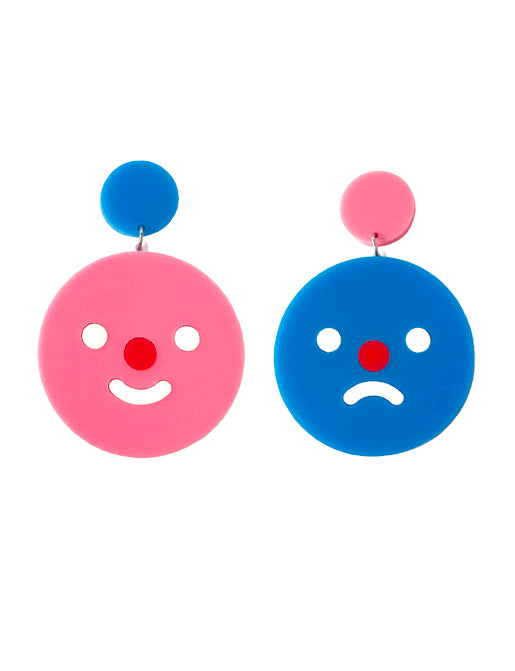 HAPPY SAD EARRINGS