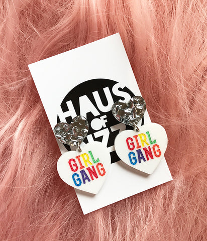 RAINBOW GIRL GANG EARRINGS