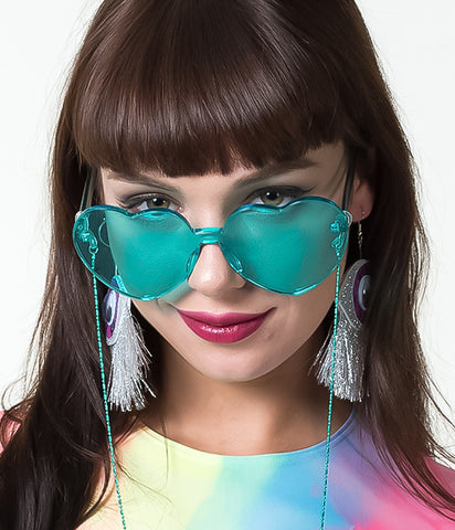 UNDER MY SPELL HEART SHADES - TURQUOISE