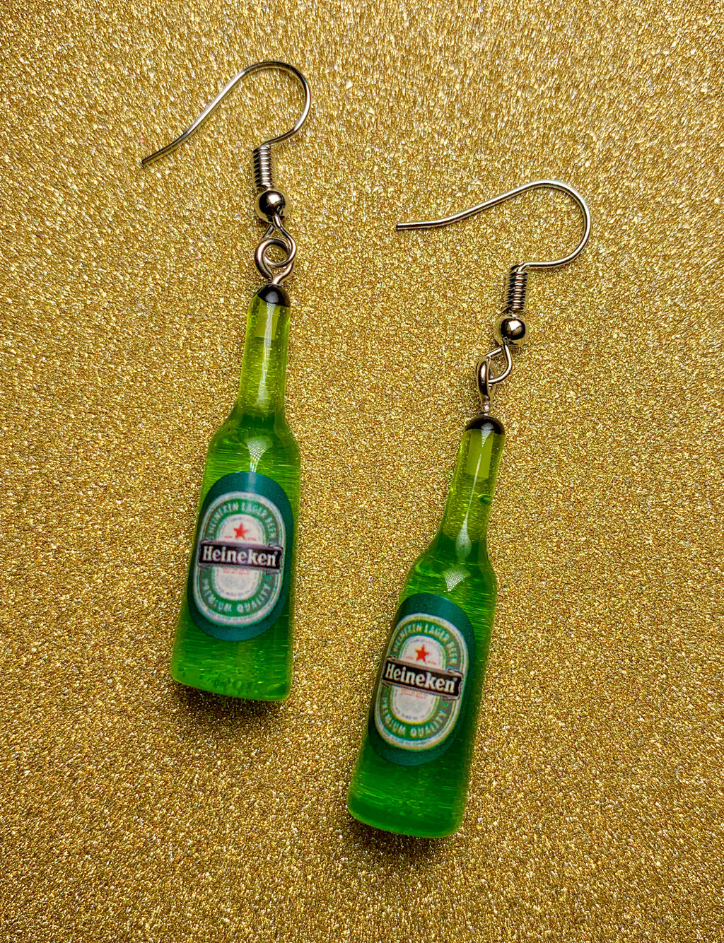 HEINEKEN EARRINGS