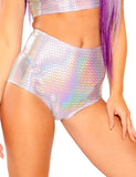HOLO LAVENDER HOT SHORTS
