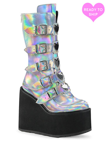 SWING 230 BOOTS - SILVER HOLO