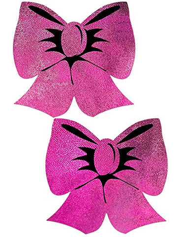 NIPPLE PASTIES - PINK BOW